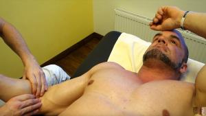 massage bicep tear