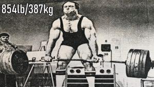 1979 854lb Deadlift John Kuc
