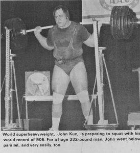 900lb squat john kuc powerlifting