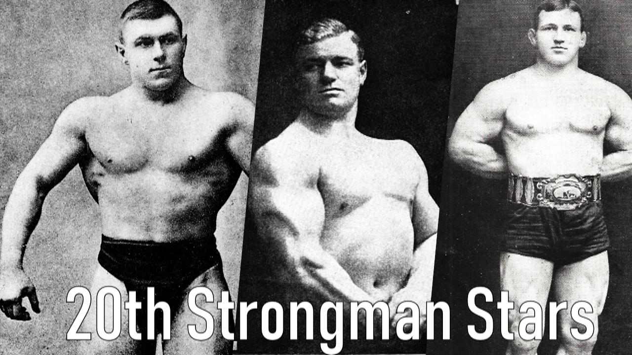 Pre Steroid Era Strongmen Bodybuilding