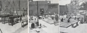 Folsom Prison Power Lifting outdoor gym
