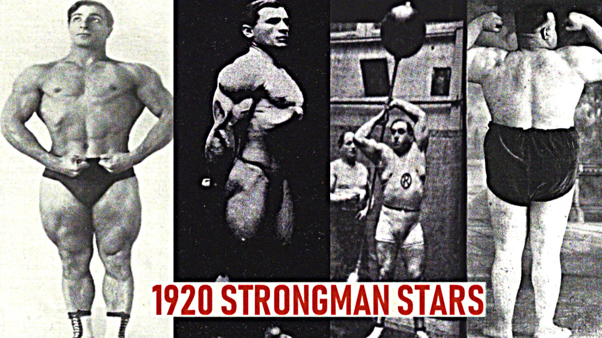 1920 strongman world war
