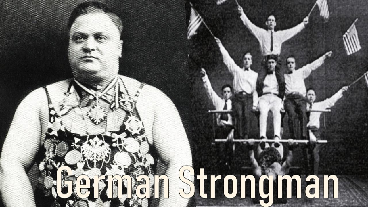 karl moerke german strongman