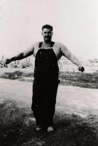 Joseph Curtis Hise farmer powerlifter