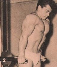 Marvin Eder Dips bodybuilding