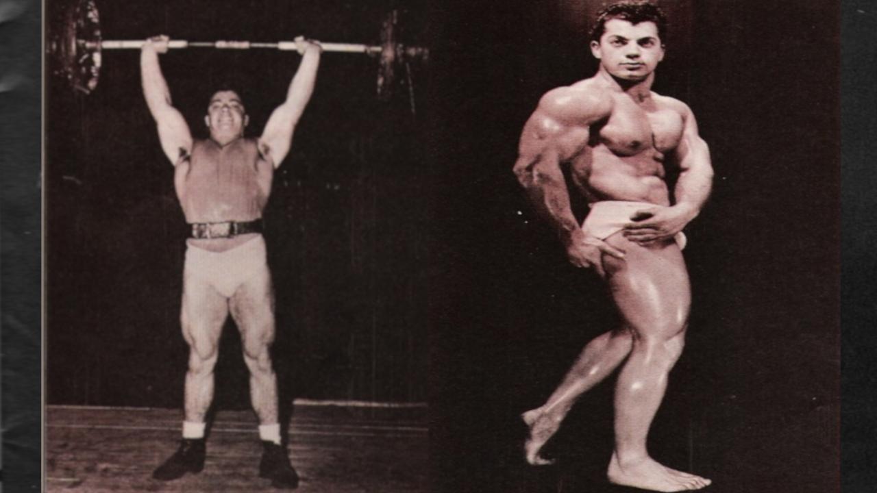Marvin eder bodybuilder weightlifter training