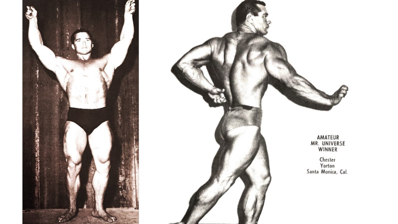 Chest Chet Yorton Bodybuilding oldschool