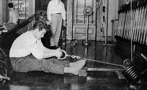 Steve Reeves cable rowing