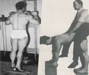 reg park calf raises training calves