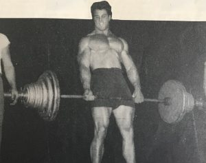 Reg Park Deadlift