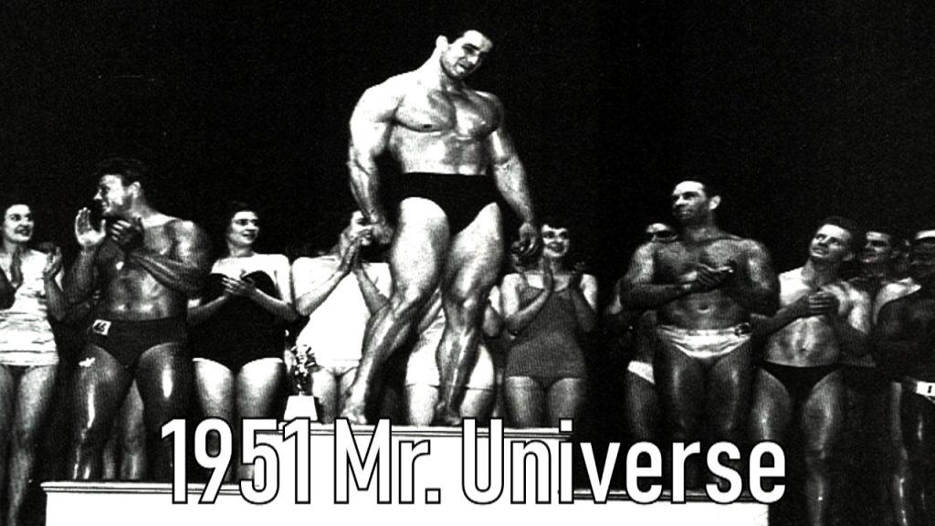 1951 Mr Universe Reg Park