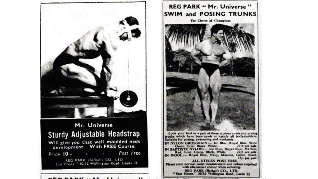 Reg Park Company bodybuilding