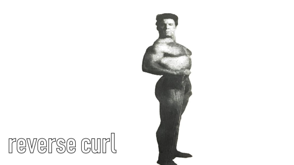 Reg Park curl training