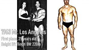 Chester Yorton Mr. Los Angeles 1963 winner