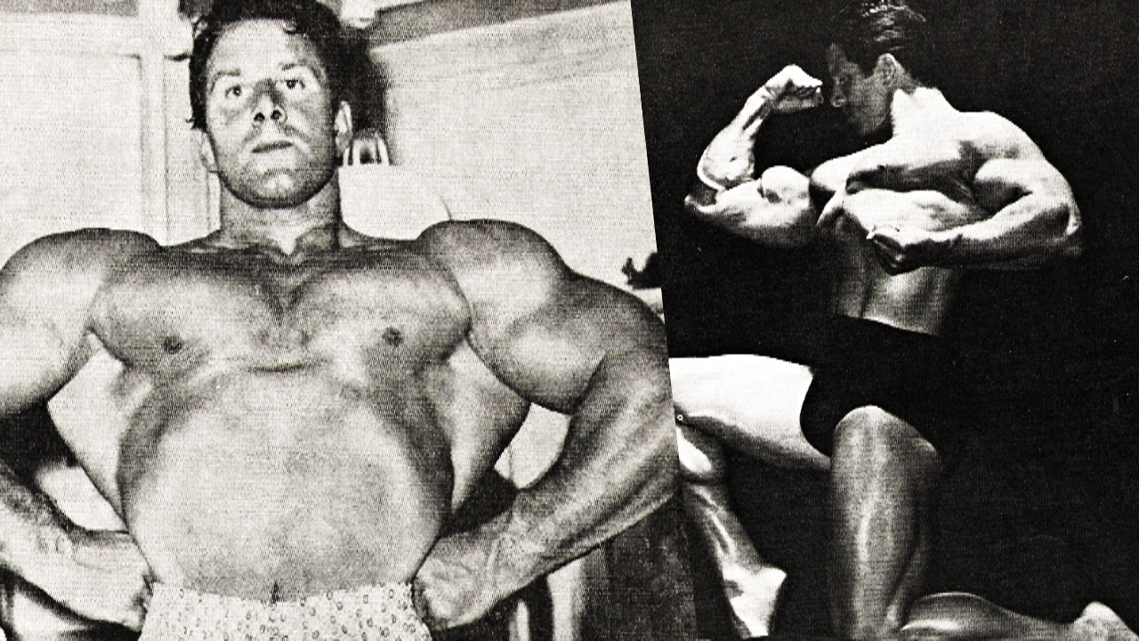 Reg Park Training Routine