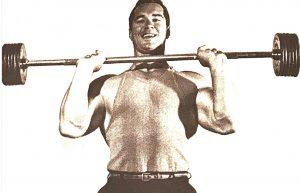 Chet Chester Yorton barbell training