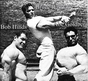 Bob Hinds Bruce Randall Abe Goldberg