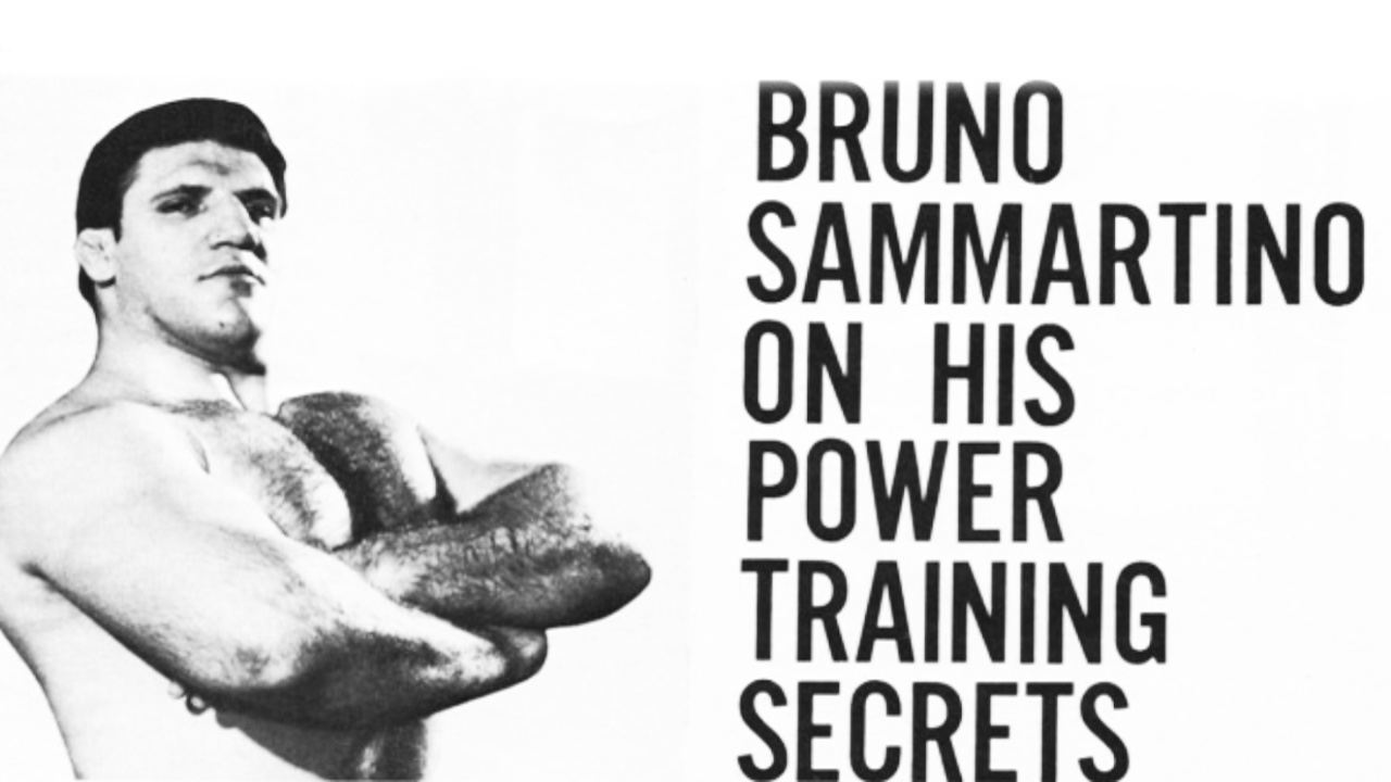 Bruno Sammartino Training Workout