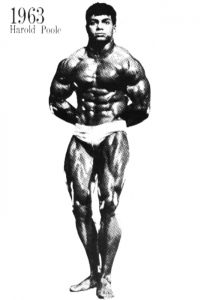 Harold Poole 1963 Mr Universe