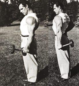 John Grimek oldschool grip training