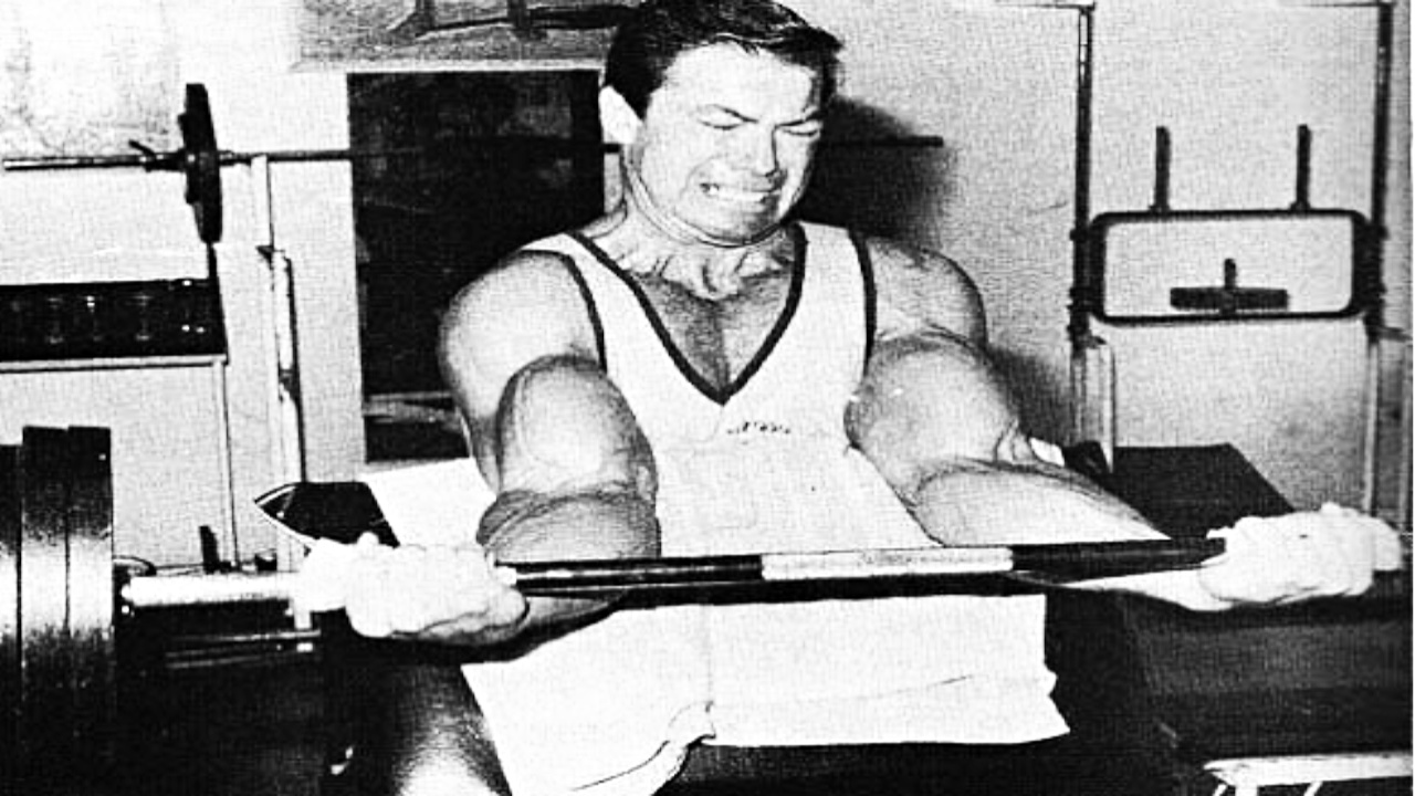 Larry Scott Arm Training