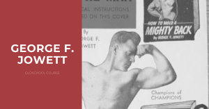 George J Jowett training course workout