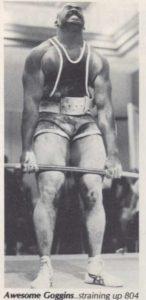 Steve Goggins deadlift