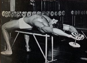 Ray Routledge chest training
