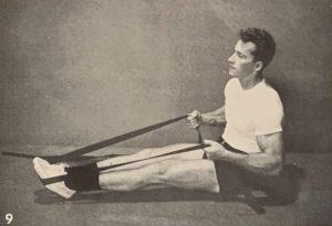 band workout abdomen abs