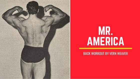 Back Workout Vern Weaver