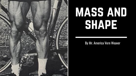 leg workout mass and shape oldschool