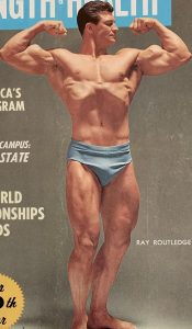 Ray Routledge Mr America