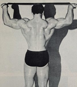 vern weaver mr america back bodybuilder