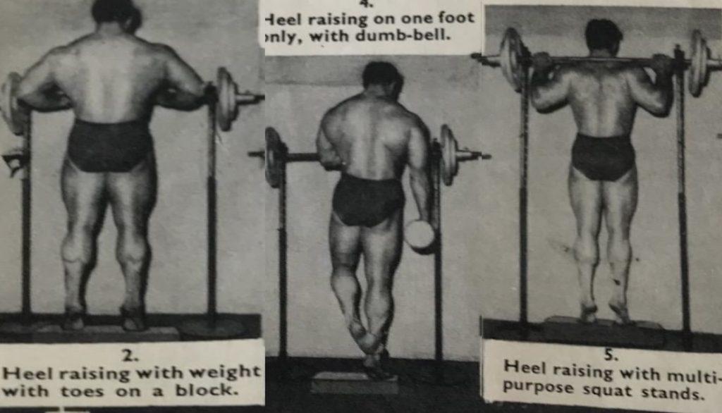 John Isaac calf training