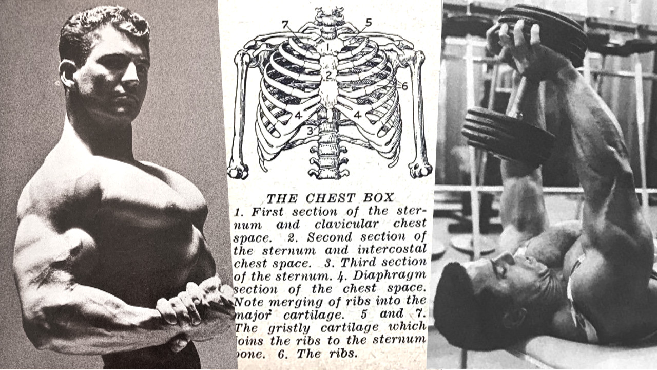 oldschool chest training