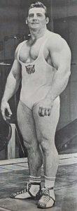 Jim Dorn weightlifter