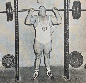 Jim Dorn weightlifting workout