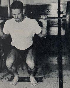squat workout oldschool