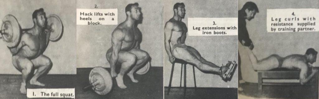 John Isaac squat