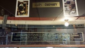 Judith Gedney Judy powerlifting