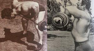 George Eiferman rowing back workout