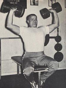 Shot put weightraining program dallas long