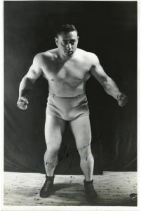 Charles Rigoulot wrestling weightlifting