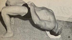 Wrestler Bridge Lloyd Red Lerille
