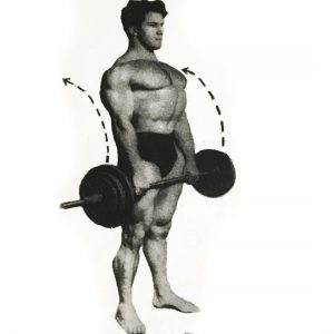 Reg Park arm workout oldschool