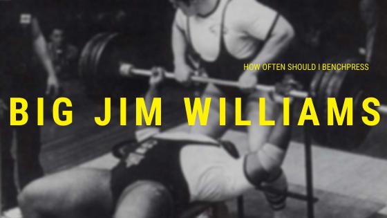 big jim williams benchpress
