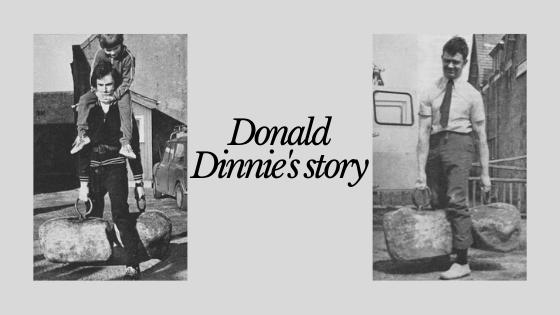 donald dinnie stone