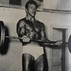 Billy Graham Young wrestler bodybuilder curl