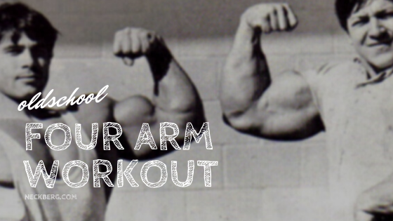 oldschool arm workout
