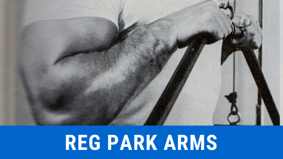reg park arm workout oldschool